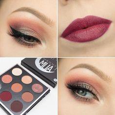 Manny MUA x Makeup Geek Palette . TUTORIAL > https://youtu.be/gbhsXrB8uXA ;) @makeupgeekcosmetics @mannymua733