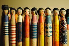 Bespoke Peg dolls