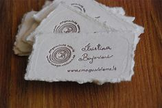 Linen business card paper stock bay trash wear pinterest where can i get raw edged cotton business card paper homemade businessunique reheart Choice Image