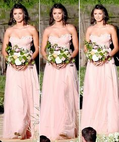 Nina Dobrev at Julianne Hough's wedding in Coeur d'Alene, Idaho (July 8)