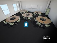 @Smith System Arc-8 Desk Configurations - Contact Sales@jennifernelson.com for product information and sales.