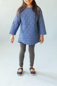 denim niñas | Demia | vestido túnica