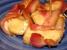 Chicken Wrapped With Bacon-Bbq Sauce a Must Appetizer!!!! from Food.com: This is a must appetizer for every gathering, super easy, super good