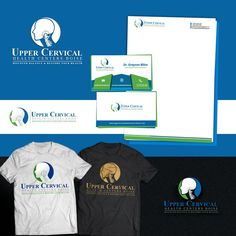 Upper Cervical Chiropractic Re-branding Geometric Design by Xiah Mae Graphics