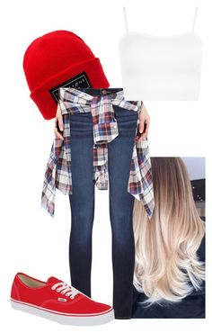 """""""Untitled #322"""" by jadettaa ❤ liked on Polyvore featuring DL1961 Premium Denim, R13, WearAll and Vans"""