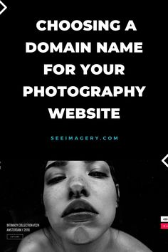 How to Choose a Domain Name for your Photography Website Photography Names, Photography Branding, Photography Website, Photography Portfolio, Photography Business, Website Names, Blog Names, Wordpress For Photographers, Descriptive Words