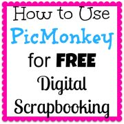 Free Digital Scrapbooking Using PicMonkey {Part 6: Printing and Enjoying Your Book, and a Free Quick-Tips Printable!}