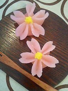 Sakura Namagashi : Japanese recipe (Site is written in Japanese)