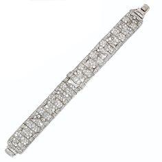 Diamond bracelet, circa 1930 | Sotheby's