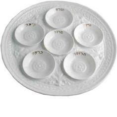 L J Seder Dishes