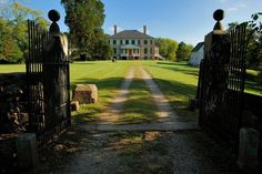 The Tenebrosi plantation house where Iris is held and interrogated. Prestwould Plantation, Clarksville Virginia