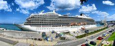 Viking Star cruise ship / Los Angeles, California -2015/, Port of Koper, Istria, Slovenia, Nikon Coolpix B700, 5mm, 1/320s,  ISO100, f/8, Nikon panorama, HDR photography, 201805201229 #Koper
