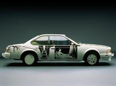 Robert Rauschenberg.  BMW Art Car