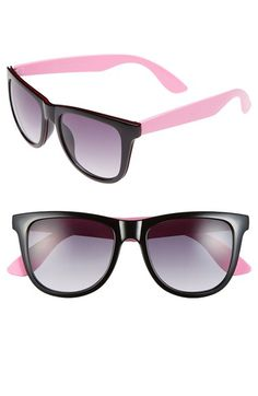 b8be3585b59 Women s Outlook Eyewear 52mm Retro Sunglasses Black Pink  Smoke One Size  Pink Smoke