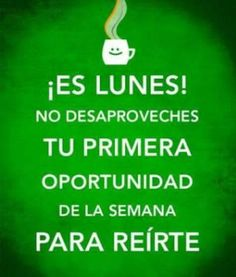 MONDAYs • LUNES▶ http://Pinterest.com/RamiroMacias/Mondays-Lunes