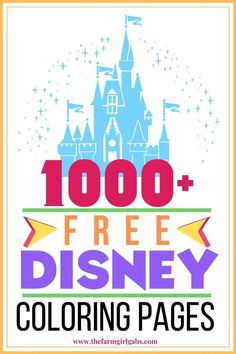 Need a fun activity for the kids? Grab some crayons and have fun coloring these FREE 1000 Free Disney Coloring Pages. All your favorite Disney Characters! Zootopia Coloring Pages, Tangled Coloring Pages, Hulk Coloring Pages, Moana Coloring Pages, Free Disney Coloring Pages, Minnie Mouse Coloring Pages, Marvel Coloring, Mermaid Coloring Pages, Printable Adult Coloring Pages