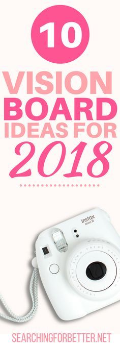 Love Vision Boards. These are definitely worth looking at ... 10 Ideas To Make A Vision Board For 2018. With new years SO close, I read this at the perfect time!! I can't wait to get started. This article has so much #inspiration and #ideas on how to create a vision board!! If you're looking for a way to stay #motivated towards your goals, YOU NEED THIS!! It even comes with examples to give you even MORE #inspiration. LOVE!! #goals #dreambig #2018 #newyear