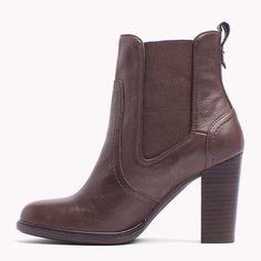7a957238bb8110 Tommy Hilfiger Betsy Ankle Boots - bitter chocolate (Braun) - Tommy  Hilfiger Stiefel   Stiefeletten - detail-Bild 2