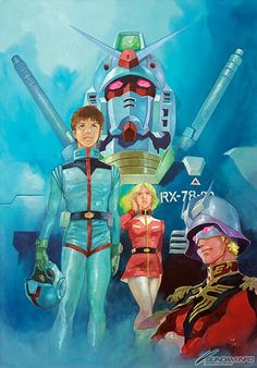 gundam 1979 | Gundam THE ORIGIN poster, by Yas.