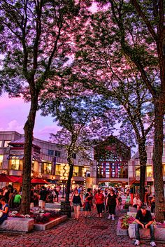 Quincy Market, Boston, MA by Gary Burke.
