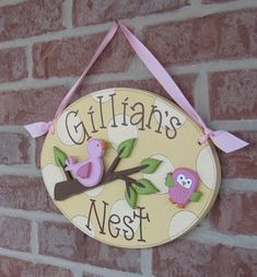 nest name plate