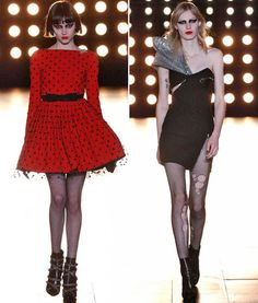 See the runway looks we love from @YSL: http://trib.al/1KckwBn