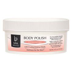 Bon Vital Spa Body Polish / 14oz Body Spa, Body Polish, Walnut Shell, Layers Of Skin, Dead Skin, Manicure And Pedicure, Vitamins And Minerals, Body Care, Moisturizer