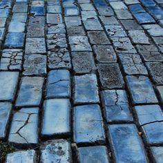 "I call this photo ""Blue Cobblestones up North"""