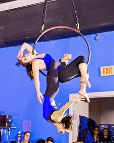 "51 Likes, 5 Comments - Joanna Eberts (@joanna_eberts) on Instagram: ""I love how this move turned out. #lyra #doubles #lyradoubles #circus #aerials #aerialist…"""