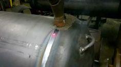 Submerged Arc Welding SAW Pressure Vessel welding