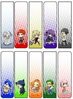 japanese decimal classification characters bookmark ideasdecimalhiroshimalibrary designanime