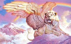 El león alado, guardián del poder interior | VADEMMÊDIUM'S