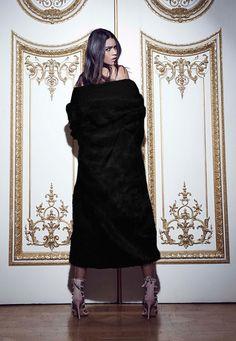 Peace + Love Longline Faux Fur Coat Black - Faux - Fur - Coats - Missguided