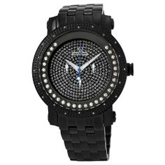 "JBW-Just Bling Men's JB-6211-D ""Hendrix"" Black « Clothing Adds for your desire"