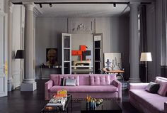 Image result for 70's parisian apartment\