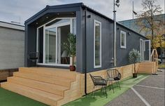 Design Case, Outdoor Structures, Outdoor Decor, Mobile Homes, Home Decor, Youtube, Camper Shells, Decoration Home, Room Decor