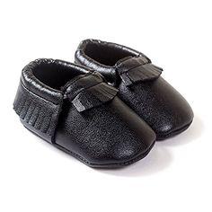 LiveBox Infant Baby Moccasins Soft Sole AntiSlip Tassels Prewalker Toddler Shoes S 06 months Black -- Visit the image link more details. Note:It is affiliate link to Amazon.