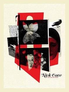 Warner Bros. Records Art Shows - Welcome Nick Cave by Michael Byzewski
