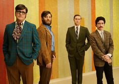 Mad Men Season 7 Cast Photos | Harry Crane, Stan Rizzo, Ken Cosgrove & Michael Ginsberg