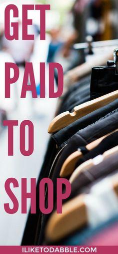Get Paid To Shop Get paid to shop. Get paid to shop online. Make money onl Make Easy Money Online, Make Money Fast, Ways To Save Money, Make Money Blogging, Make Money From Home, Money Tips, Money Saving Tips, Money Savers, Get Paid To Shop