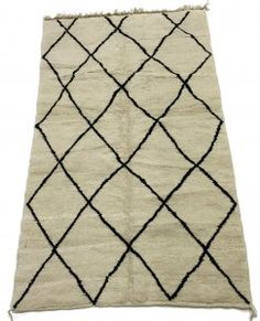 Kelimmatta Marockansk Beni Ourain-matta 260 x 150 cm