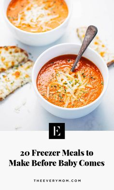 20 Freezer Meals to Make Before Baby Comes That Aren't Lasagna Premade Freezer Meals, Budget Freezer Meals, Healthy Freezer Meals, Cooking On A Budget, Freezer Cooking, Freezer Lasagna, Freezer Recipes, Cooking Tips, Plan Ahead Meals