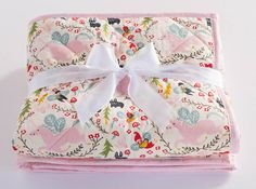 Pink and Grey Nursery Baby Girl Quilt Handmade Floral Baby Baby Girl Quilts, Girls Quilts, Quilt Baby, Baby Girl Nursery Pink And Grey, Handmade Baby Quilts, Floral Nursery, Traditional Quilts, Quilting Designs, Baby Shower Gifts