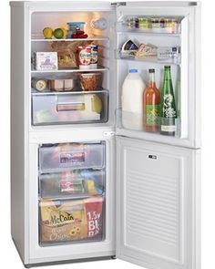 Iceking IK9055AP2 This brand new free standing fridge freezer comes with 2 years parts and labour warranty and is finished in pure white. Features manual controls and glass shelves. A+ rated energy efficiency. Extended warranty available. http://bellsdomestics.co.uk/fridge-freezer-?pro_id=1153-Iceking-IK9055AP2
