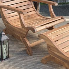 Belham Living Avondale Adirondack Chair and Ottoman - Adirondack Chairs at Hayneedle