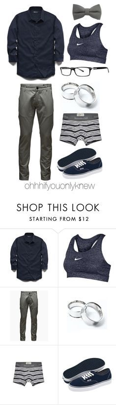 """""""Untitled #213"""" by ohhhifyouonlyknew ❤ liked on Polyvore featuring 21 Men, NIKE, Jack & Jones, Abercrombie & Fitch and Vans"""