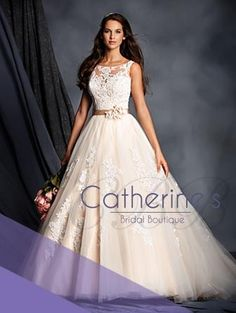 A beautiful taffeta ballgown with pockets! Alfred Angelo style #2119.