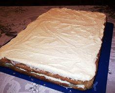 diana's cakes love: Prajitura cu nuca si krantz Vanilla Cake, Caramel, Cakes, Desserts, Sticky Toffee, Tailgate Desserts, Candy, Deserts, Cake Makers