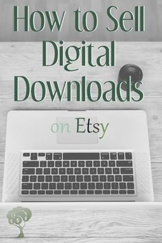 Make Money from Home offering digital downlonds on Etsy