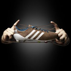 World's First Knitted Football Boot by Adidas #Football_Boot